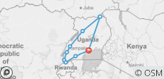 19 Days Ultimate Uganda Holiday Safari - 9 destinations
