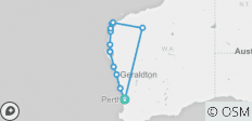 Perth to Exmouth & Karijini Return Tour – 13 Day Adventure - 13 destinations