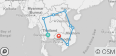 Southeast Asia Discovery 19 Days - 8 destinations