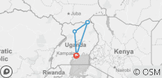 5 Days Kidepo Valley National Park Uganda - 4 destinations