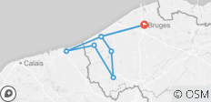 West Flanders / Three Countries (One Week) - 8 destinations