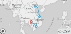 Best of Vietnam and Cambodia Tour - 14 days - 9 destinations