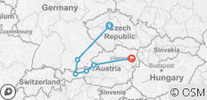 Prague, Munich and Austria 2020 - 6 destinations