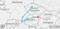 Prague, Munich and Austria 2019 - 6 destinations