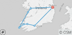 2019 Independent Taste of Ireland (Tour A)- 7 Days/6 Nights - 8 destinations