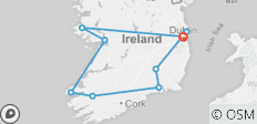 2019 Private Driver Irish Legends - 10 Days/9 Nights - 9 destinations