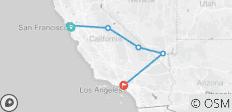 San Francisco- Las Vegas - Los Angeles - 6 destinations