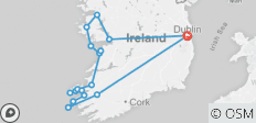7 Day Wild Atlantic Adventure – Small Group Adventure Tour  - 18 destinations