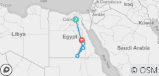 Nile Cruise & Cairo  8 Days Egypt - 6 destinations