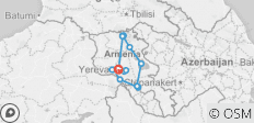 Armenia 8 days / 7 nights - 15 destinations