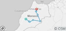 4 days cultural trip from Marrakech to Fes - 9 destinations