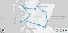 A Scottish Journey - 13 destinations