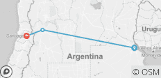 From Buenos Aires to Santiago (8 Nights) - 3 destinations