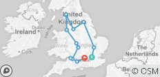 Contiki Sounds - Reading Festival (10 Days) (from London to Reading) - 12 destinations