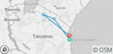 Serengeti Safari & Sunbathing on Zanzibar - 6 Days - 4 destinations