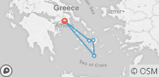 Vacations in Greece - 9 Days - Standard - Athens, Paros, Naxos, Santorini - 5 destinations
