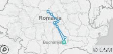 4-Day Best of Transylvania Tour from Bucharest - 11 destinations