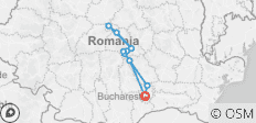 Private 4-Day Best of Transylvania Tour from Bucharest with Airport Pick Up - 11 destinations