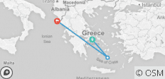 Budapest 2 Greece Island Hopping - Meet us There - 3 destinations