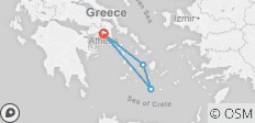 2 Greek Islands Tour - 5 Days - Paros & Santorini - Premium - 4 destinations