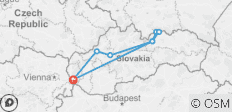 Slovak Republic - 8 destinations