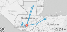 Guatemala - 11 destinations