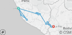 Peru & bolivia including the Nazca Lines - 22 destinations