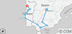 Southern spain & portugal  - 15 destinations