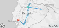 Ecuador Amazon & Andes - 12 destinations