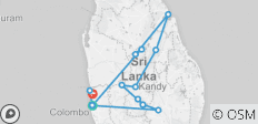 Legendary Ramayana Tour in Sri Lanka - 11 Days - 14 destinations