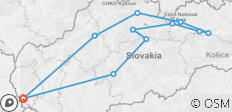 Highlights of Slovakia in 3 days - 9 destinations