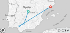 Madrid , Cordoba , Seville & Barcelona - 4 destinations