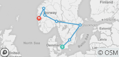 Spectacular Scandinavia   (Copenhagen to Bergen) - 7 destinations