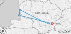 UNESCO Lithuania Express - 6 destinations