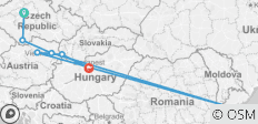 Imperial Cities featuring Prague, Vienna & Budapest (Prague to Budapest) (Standard) - 7 destinations