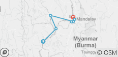 Myanmar Heritage - 7 nights (Up-Stream) - 7 destinations