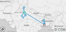 Golden Triangle & The Lower Ganges (2020) - 22 destinations