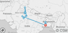Golden Triangle & The Lower Ganges Delhi to Kolkata (Downstream) (2020) - 15 destinations