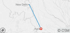 All Inclusive 2 Nights 3 Days Delhi to Agra Tour - 2 destinations