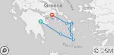 Cyclades cruise - 9 destinations
