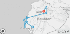 Ecuador Express Rundreise - 10 Destinationen