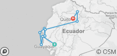 Ecuador Express Tour - 10 destinations