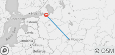 White Christmas in Russia 2019/2020: Moscow to St. Petersburg - 2 destinations