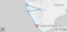 Gems of Kerala - 5 destinations