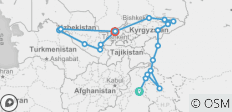 Silk Road: From Hunza to Samarkand  - 20 destinations