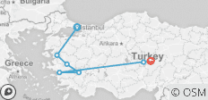 8 Days - Biblical Turkey Tour - 7 destinations