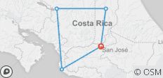 Driving and Exploring Costa Rica - 5 destinations