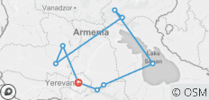 Armenia - Trekking / 7 days - 9 destinations