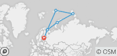 Russian High Arctic Odyssey - 7 destinations