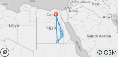 9 Day Best of Egypt Tour – Cairo 5*, Giza 5* and Nile Cruise 5* [By Air]   - 10 destinations
